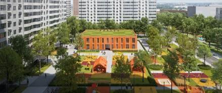 Закончилось проектирование школы в ЖК «Кварталы 21/19»