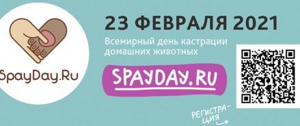 Камчатка поддерживает всероссийскую акцию SpayDay 2021