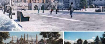 На Расстанной площади в Волхове появятся канатный городок и амфитеатр
