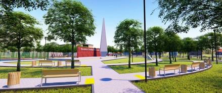 У школы №20 в станице Брюховецкой появится современный сквер