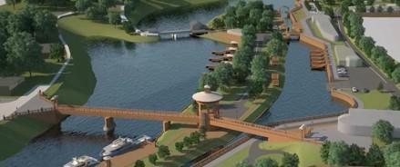 В городе Вытегра на набережной обновят Детский городок