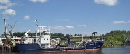 На май запланирован ремонт судна МСНБ «Сосновка-2»