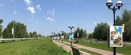 Парк большого масштаба откроется в центре Нягани