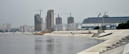 Защитную дамбу в Хабаровске достроят к концу 2022 года