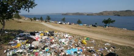 Около Байкала уберут огромную стихийную свалку