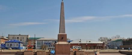 В Канске отреставрируют обелиск на площади имени Коростелева