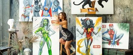 В Москве пройдёт поп-арт выставка художницы Алины Шимовой «Супервумен»