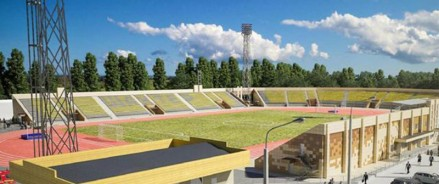 В Шахтах найдут нового подрядчика для реконструкции стадиона «Шахтер»