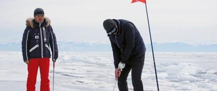 Гольфистов со всей России пригласят на гольф-турнир на льду Байкала