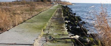 На Калининградском морском канале укрепят северный берег
