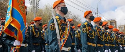 Торжественное шествие в честь празднования 76-й годовщины Победы состоялось в Красноярске