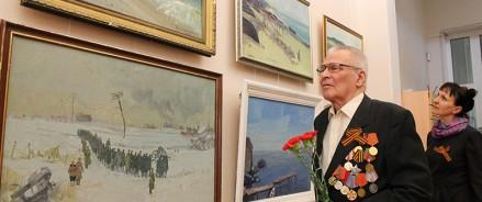 В Архангельске впервые в России открылась выставка художников – участников Великой Отечественной войны