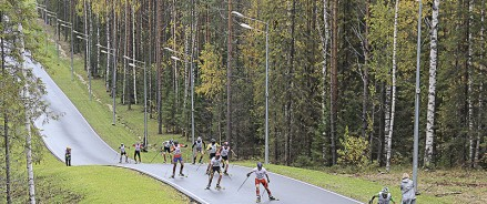 В Белоярском построят лыжероллерную трассу
