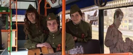 В Красноярске будет курсировать «Трамвай Победы»