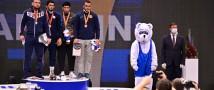 Всё золото третьего дня Ярыгинского турнира в Красноярске досталось российским борцам