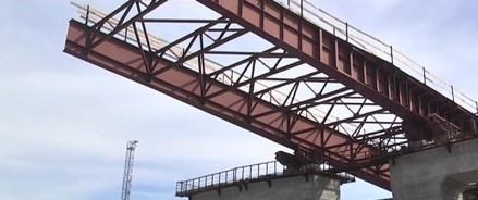 У моста через реку Партизанская появятся новые пролетные конструкции