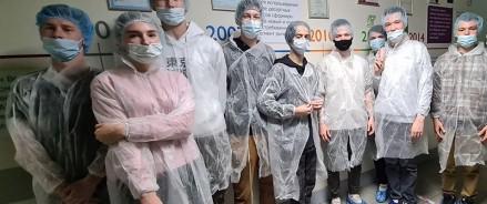 Компания МАЙ провела экскурсию по своей чаепроизводящей фабрике для 40 студентов Щелковского колледжа