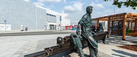 «Метриум»: Драккар викингов, Дон Кихот и географический центр столицы – какие арт-объекты есть в Новой Москве
