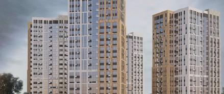На площадке ЖК «Прокшино» строится одновременно 16 жилых корпусов