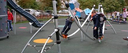 В Бабушкинском парке в Москве появится детская площадка с электронными играми