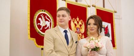 В День семьи, любви и верности в Казани поженятся 88 пар