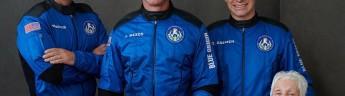 Джефф Безос отправился в космос на борту корабля New Shepard
