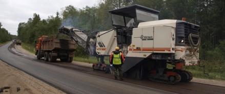 На автодорогах трех районов Новгородской области пройдет ремонт