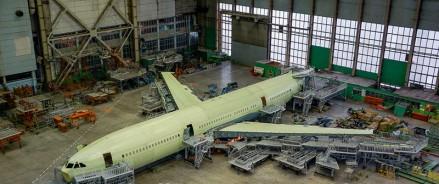 На перевооружение производства самолетов Ил-96-400М выделили 113 млн рублей