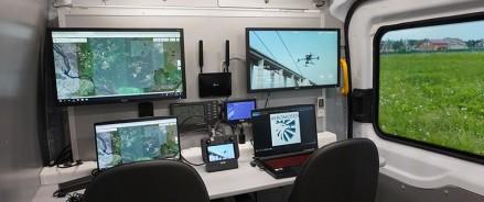 Помощь в любой ситуации: представлен уникальный передвижной пункт для дистанционного управления дронами