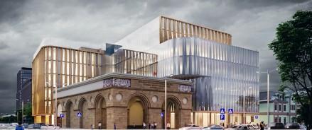 AFI Development построит в 2023 году общественно-рекреационный комплекс у метро «Белорусская»