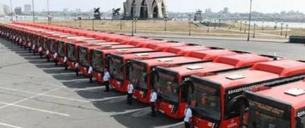 С завтрашнего дня в Казани по маршрутам №1 и №22 начнут курсировать 40 новых низкопольных газомоторных автобусов
