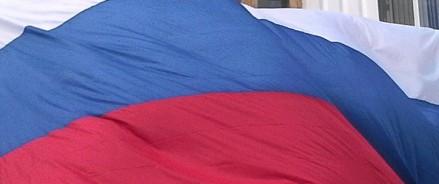 В Казани развернули российский флаг размером 150 квадратных метров