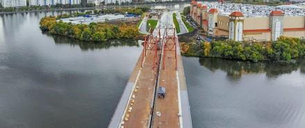 В Москве построят мостовое сооружение через старое русло реки Москва