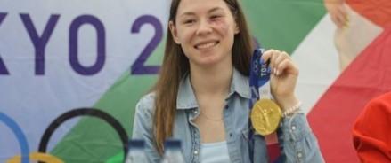 Олимпийская чемпионка Марта Мартьянова удостоена звания «Почетный гражданин Казани»