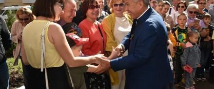 Президент республики оценил готовность казанской школы #175
