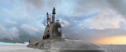 В Северодвинске спустили на воду атомный подводный крейсер четвертого поколения «Красноярск»