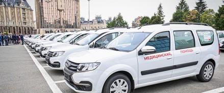 Татарстанские больницы получили еще 70 автомобилей для первичного звена