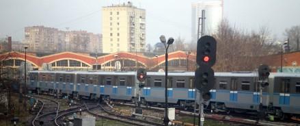 В московском метрополитене заменят парковые пути электродепо «Красная Пресня»