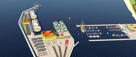 В городе Пионерский Калининградской области построят морской терминал