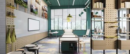ГК «А101» на 50% завершила монолитные работы в образовательном комплексе «Холст»