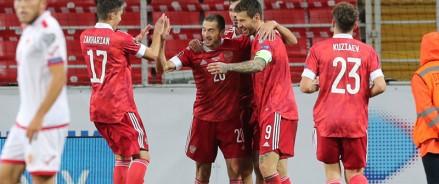 Открыта продажа билетов на матч Россия — Словакия