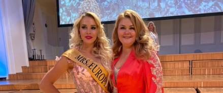Россиянка Валерия Тулаева завоевала корону «Миссис Европа 2021»