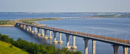 В Татарстане за 450 миллионов рублей отремонтируют мост через Каму