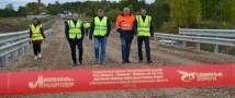 В Поморье ввели в эксплуатацию два первых дорожных объекта 2021 года