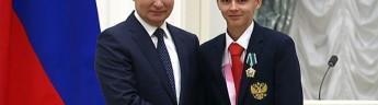 Президент России Владимир Путин вручил орден Дружбы чемпиону Паралимпийских игр в Токио Александру Яремчуку