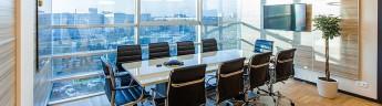 За первые три квартала 2021 г. в Москве было арендовано и куплено 1 076 тыс. кв. м офисных площадей