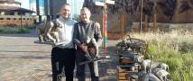 В казанской «Реке Замбези» к концу недели установят 21 скульптуру для слабовидящих