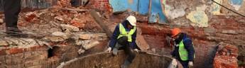 В Татарстане при реставрации корпуса завода Крестовниковых обнаружены гигантские дубовые чаны для мыла