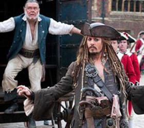 Мировая премьера Пиратов-4 пройдет под открытым небом