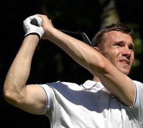 Игра в гольф с Андреем Шевченко ушла с молотка за рекордные 250 тысяч гривен